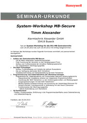 Systemworkshop MB Secure